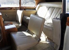 Classic 1960s Rolls Royce Phantom for weddings in Winchester